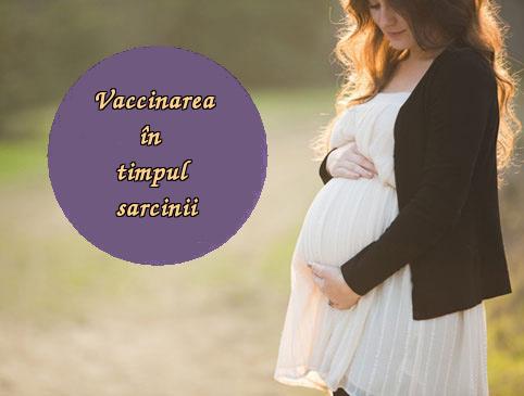 Vaccinarea în timpul sarcinii
